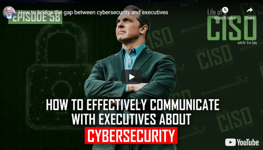 How to Bridge the Gap Between Cybersecurity and Executives