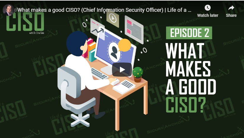 [Life of a CISO] What makes a good CISO? (Chief Information Security Officer)