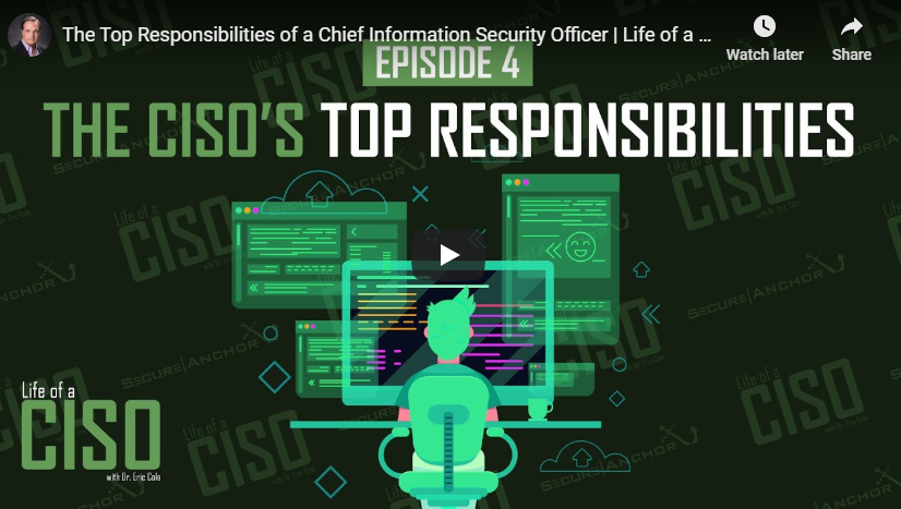 [Life of a CISO] The Top Responsibilities of a Chief Information Security Officer