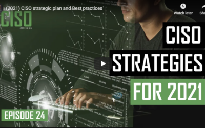 2021 CISO Strategic Plan And Best Practices