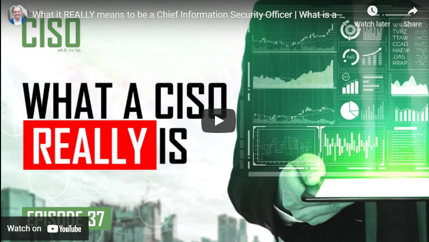 What it Really Means to be a Chief Information Security Officer: What is a CISO?