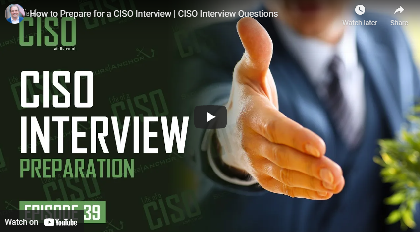 How to Prepare for a CISO Interview: CISO Interview Questions