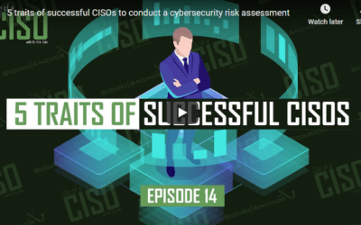 5 Traits of Successful CISOs to Conduct a Cybersecurity Risk Assessment