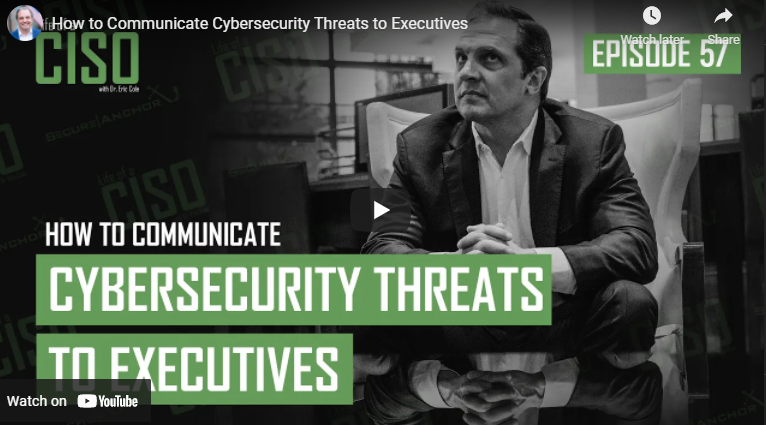 How to Communicate Cybersecurity Threats to Executives