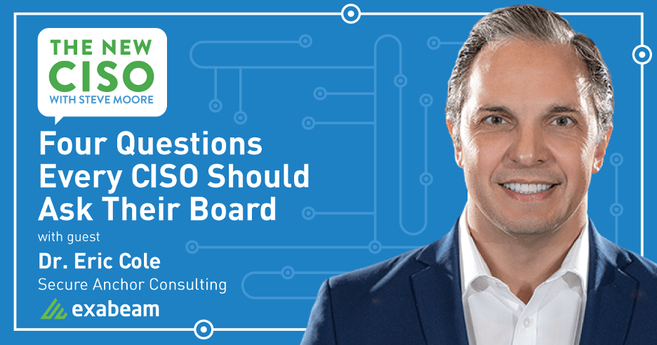 The New CISO Podcast – Four Questions Every CISO Should Ask Their Board
